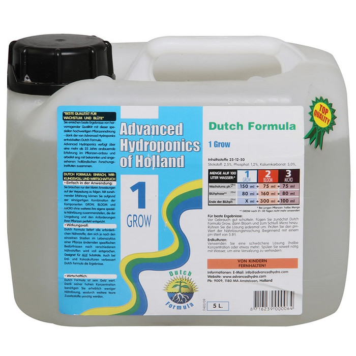 Advanced Hydroponics Grow 5 L