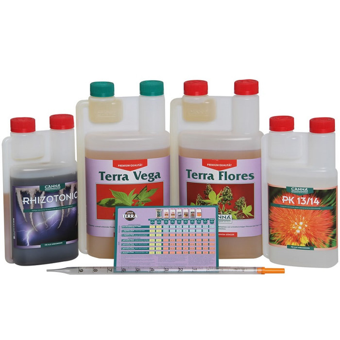Kit de Fertilizantes CANNA Terra