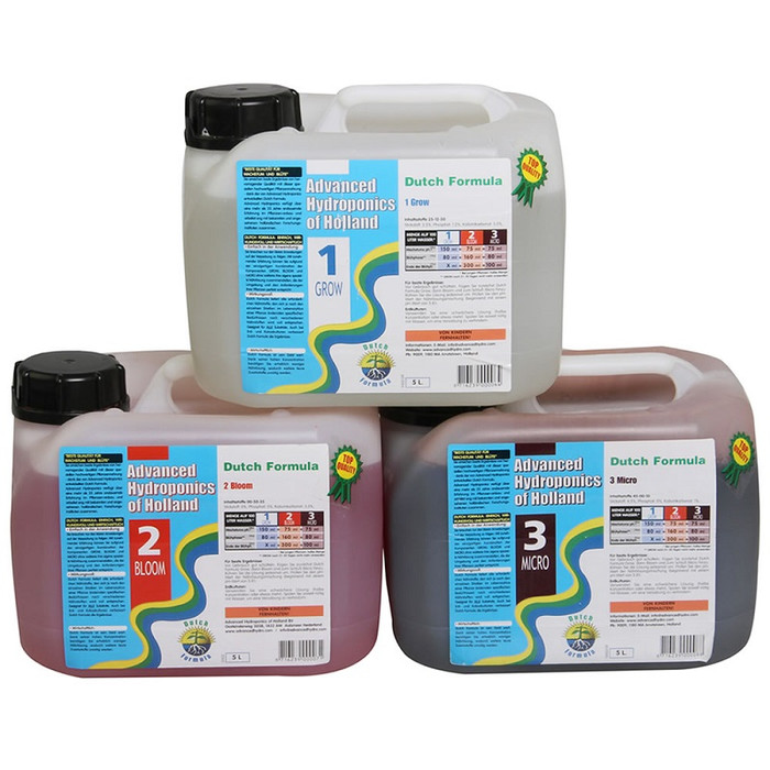 Kit de Fertilizantes Advanced Hydroponics para Cultivos...