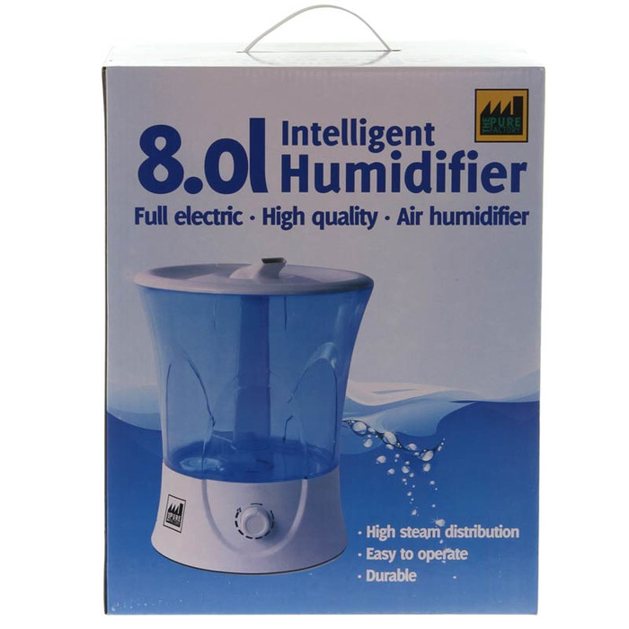 Humidificador por ultrasonido de 8 l