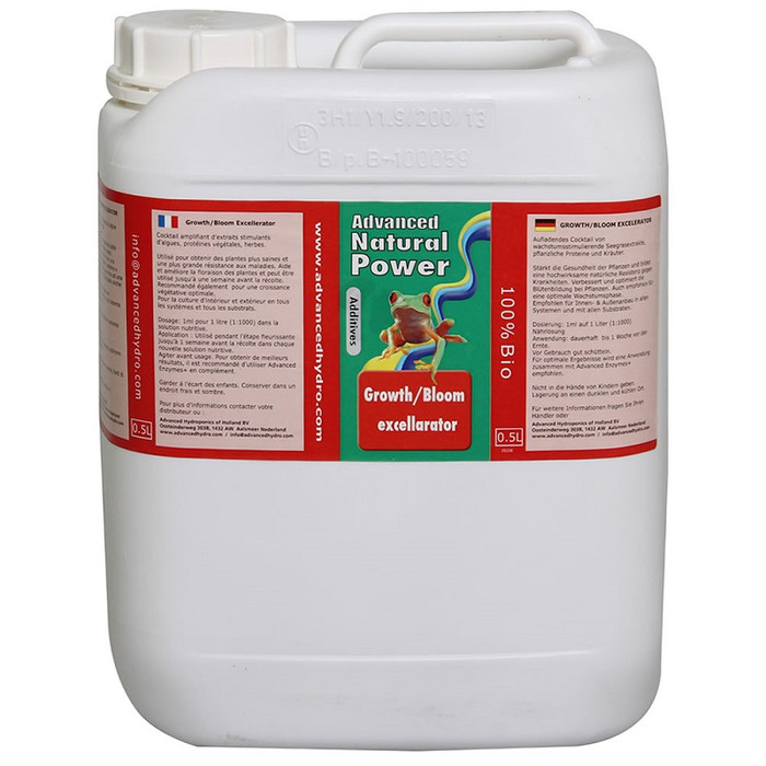 Advanced Hydroponics Growth/Bloom Excellarator 5 L
