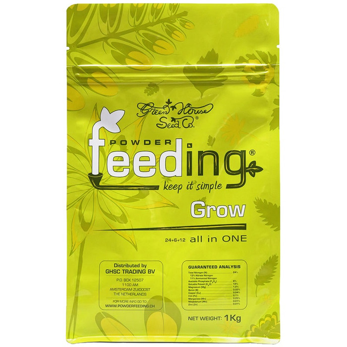 Fertilizante granulado Powder Feeding Grow 1 kg