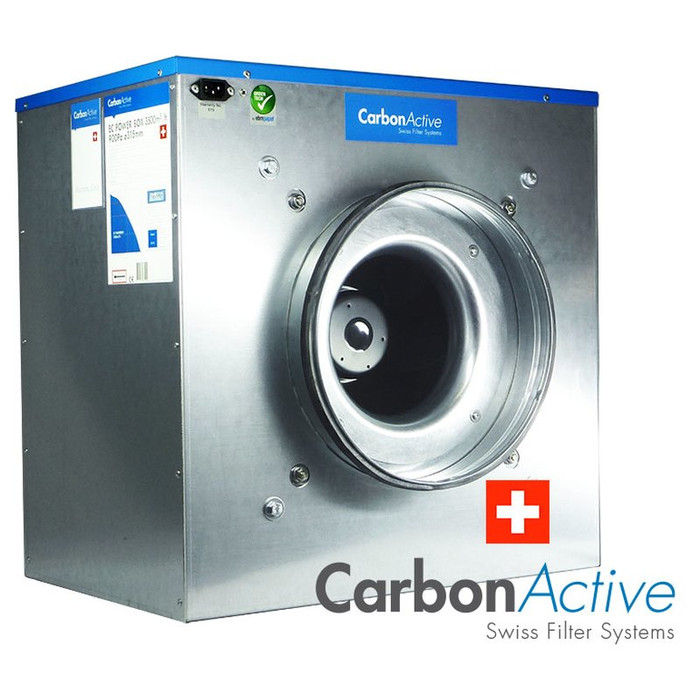 CarbonActive EC Silent Box 5000m³/h 400mm