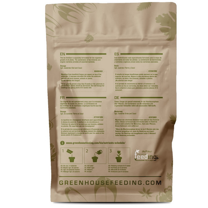 Green House Powder Feeding BioGrow 2,5 kg