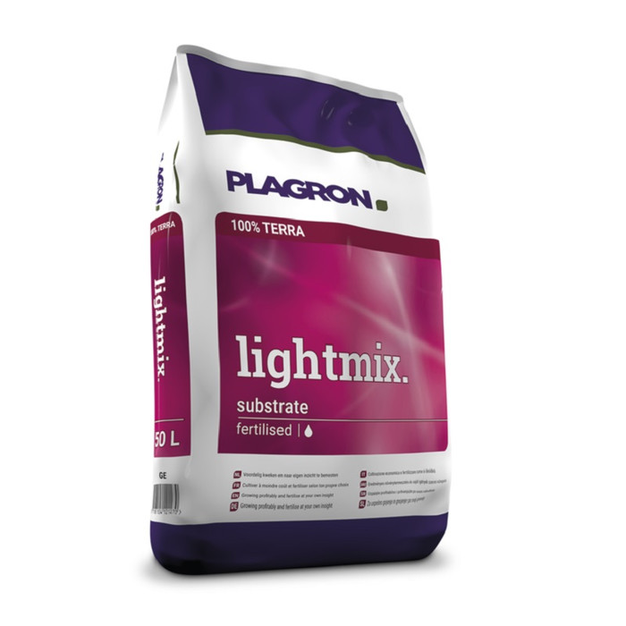 Plagron Light Mix Tierra con Perlita 50 L