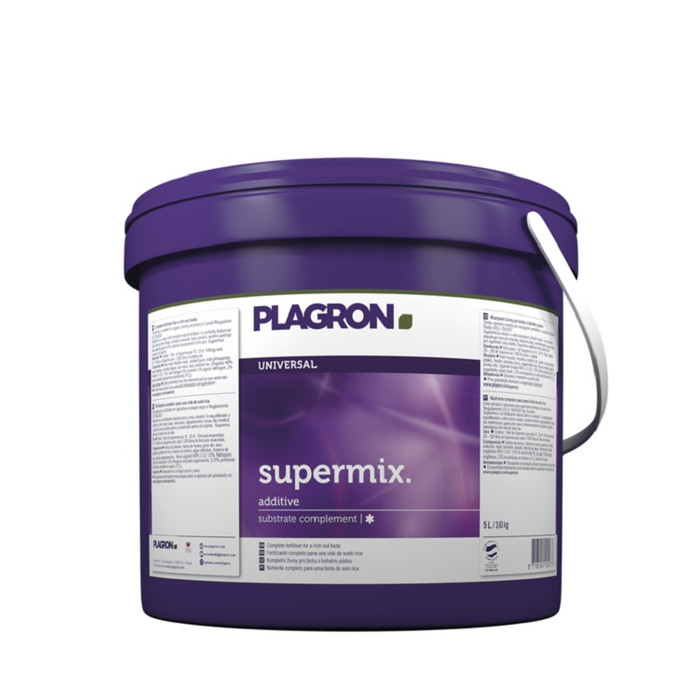 Plagron Supermix Fertilizante natural completo 5L